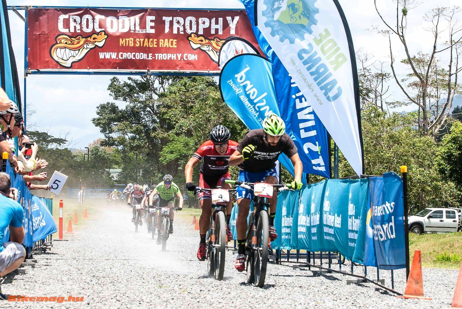 Az első szakaszt pólóban nyerte az olasz Nicholas Pettina