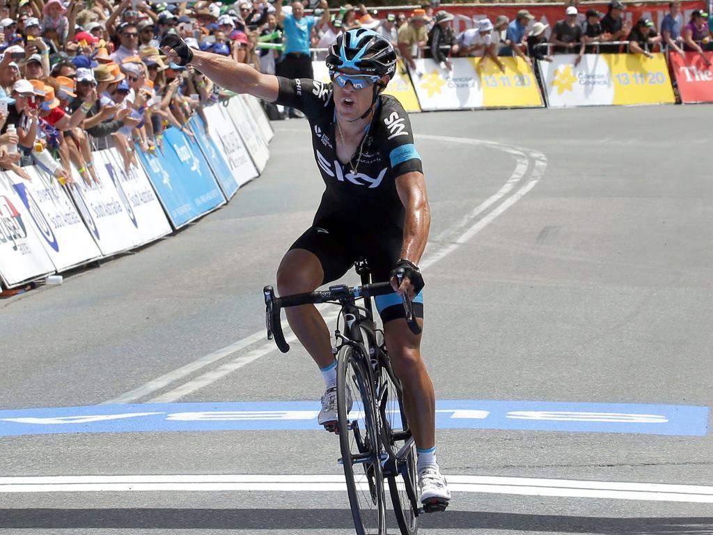 Richie Porte a szakaszgyőztes
