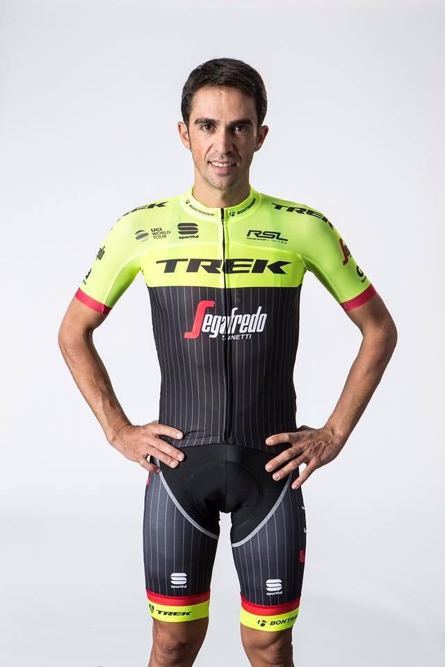 Alberto Contador új mezben