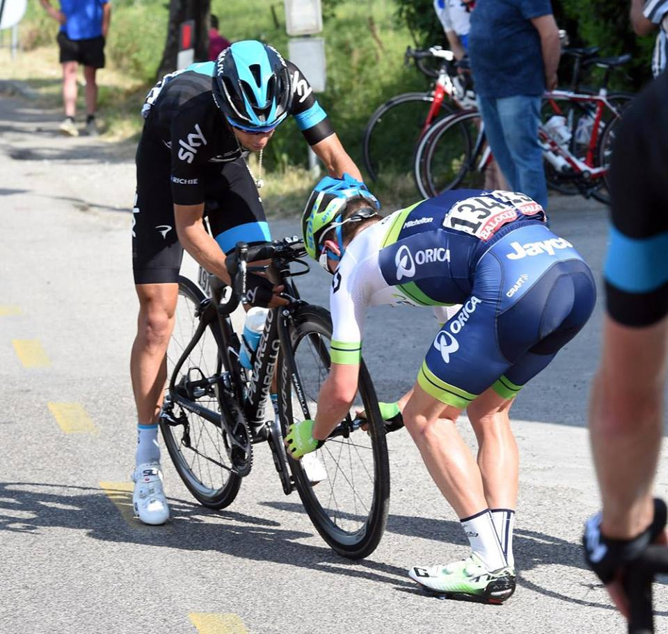 2015, Giro d'Italia, tappa 10 Civitanova Marche - Forli, Bardiani Csf 2015, Boem Nicola, Forli, olasz kerékpáros körverseny, kerékpár, worldtour