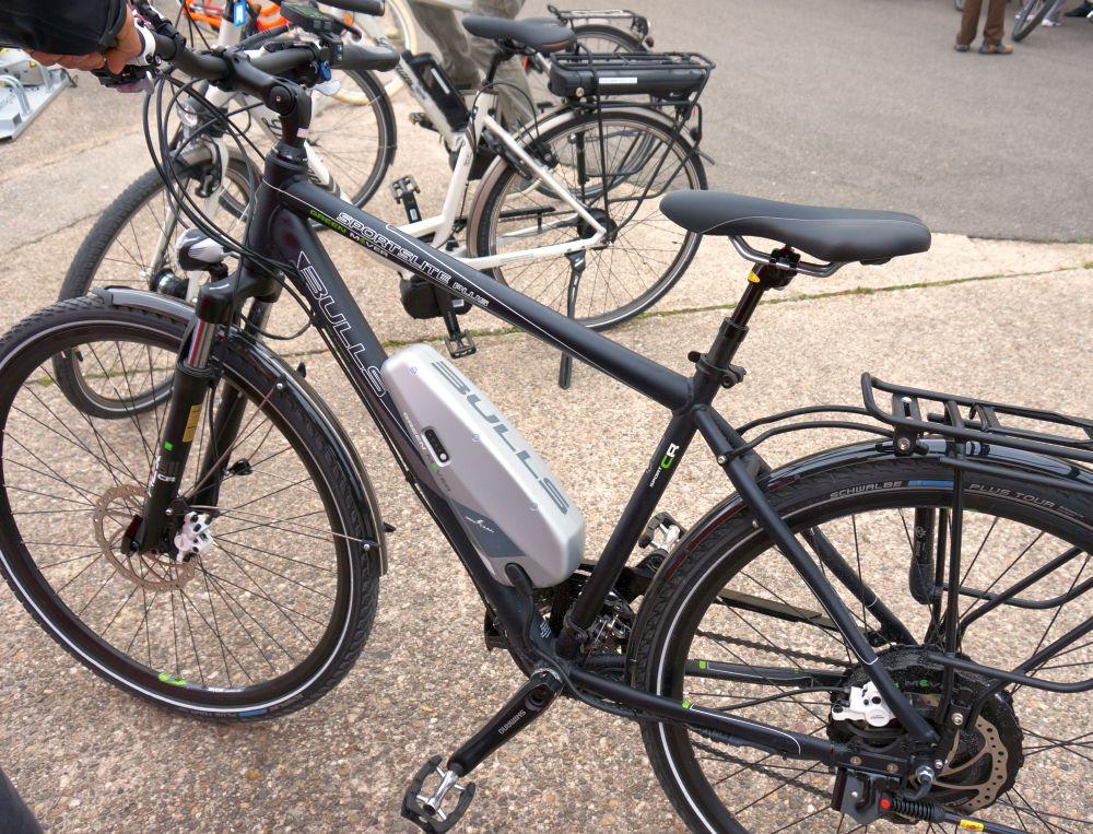 A Bionix elektromos Pedelec meghajtás a német Bulls kerékpáron...