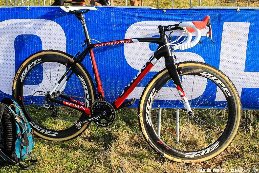 Zdenek Stybar's Specialized S-Worlks Crux cyclocross bike with S