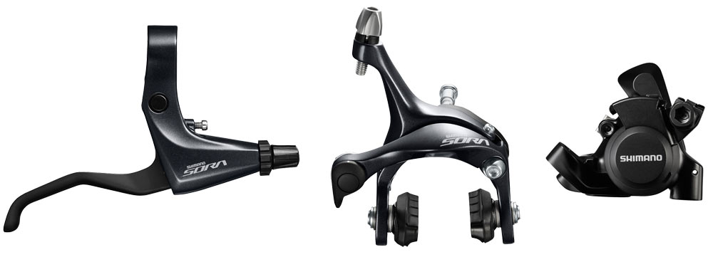 2017-Shimano-Sora-R3000-road-bike-brakes02