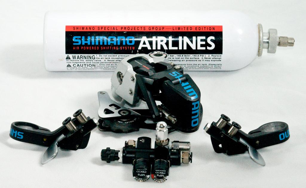 Shimano Airlines az ezredforuló környékéről