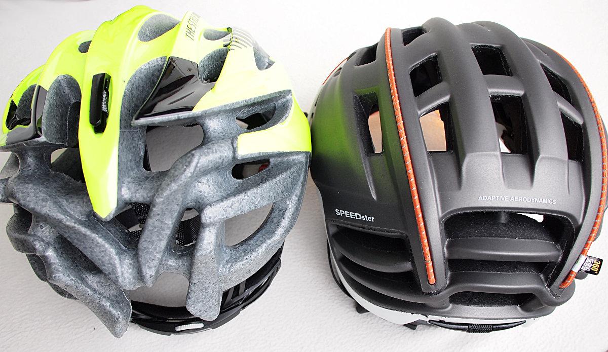 """Melyik sisak irányítja a légáramlást a kerékpáros körül, és melyik inkább csak """"kavarja""""?"""