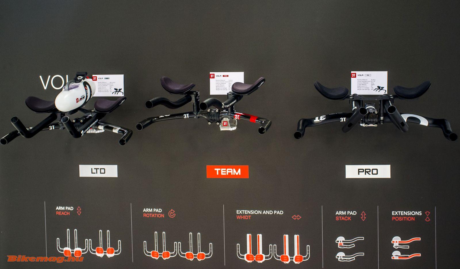 3T Vola időfutamkormányok LTD, Team és Pro kivitelben