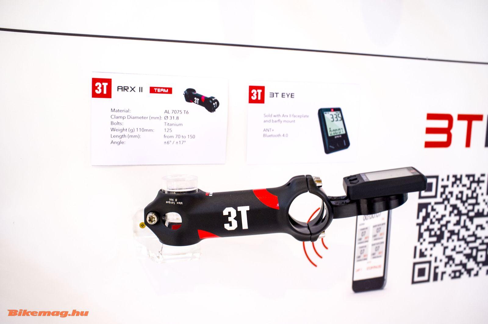 érdekes újdonság a wattmérőkkel vagy okostelefonnal is kommunikáló display, a 3T Eye