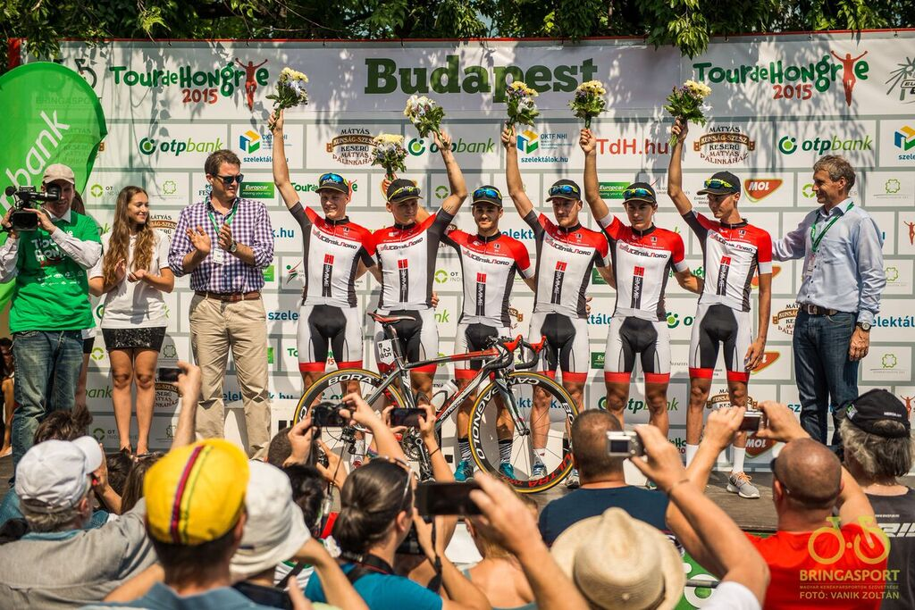Kontinentális gárdánk a 2015. évi Tour de Hongrie legjobb csapata volt