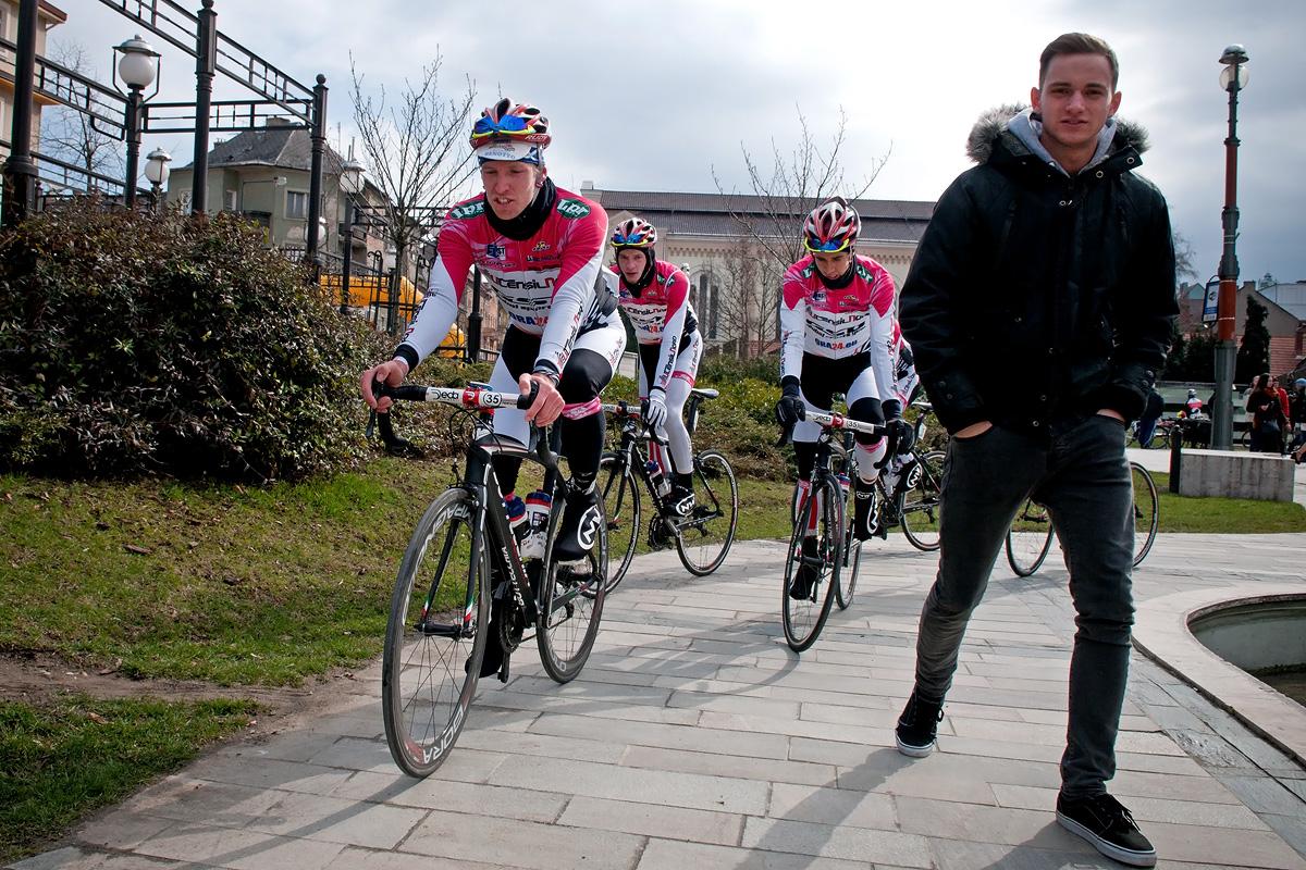Az Utensilnord-sornak jó lehetősége nyílt UCI-pontszerzésre (Fotó: Nehézy László)