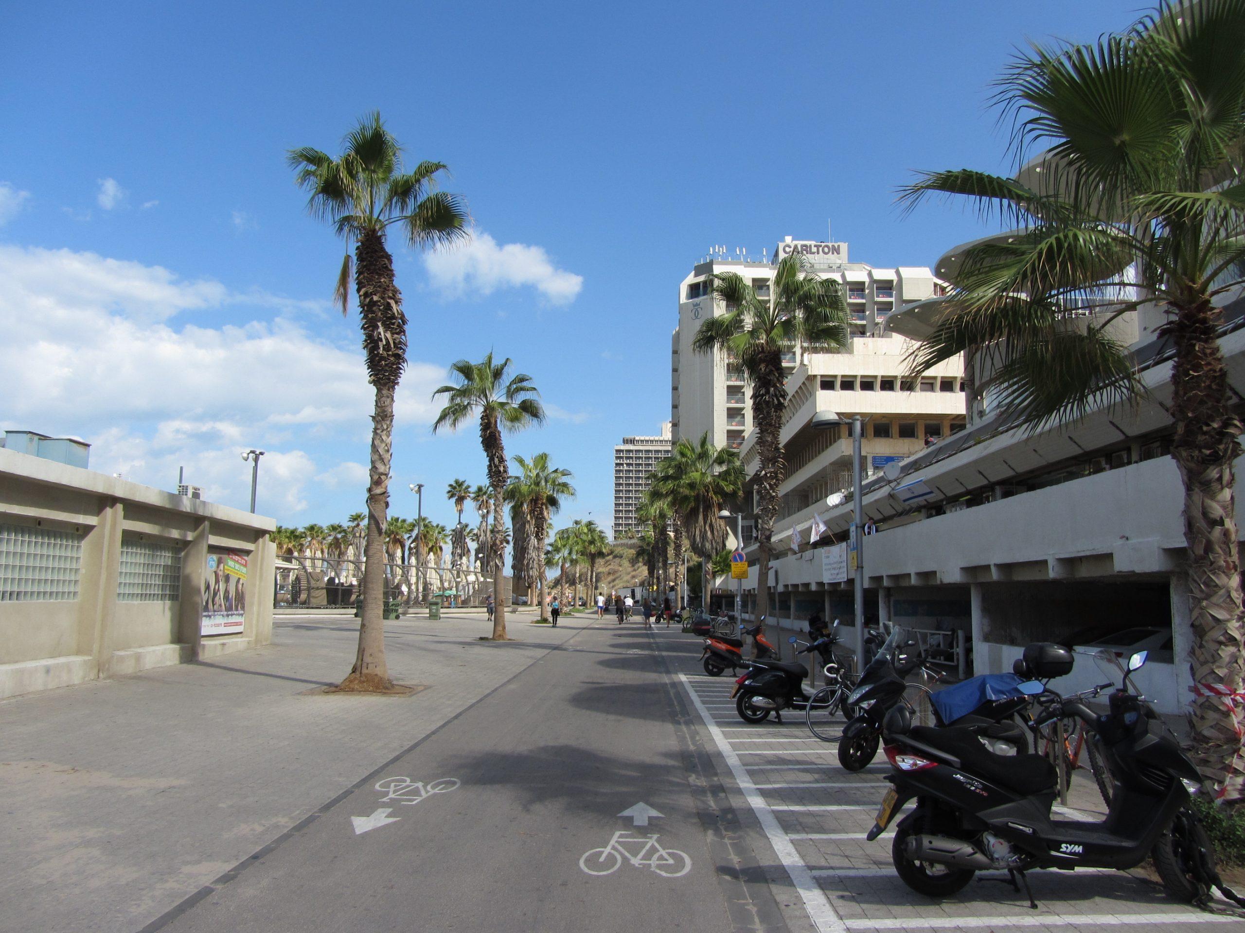 A Földközi-tenger melletti kerékpárút