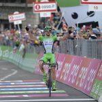 Guilo Ciccone (Bardiani CSF) győzelme a 10. szakaszon