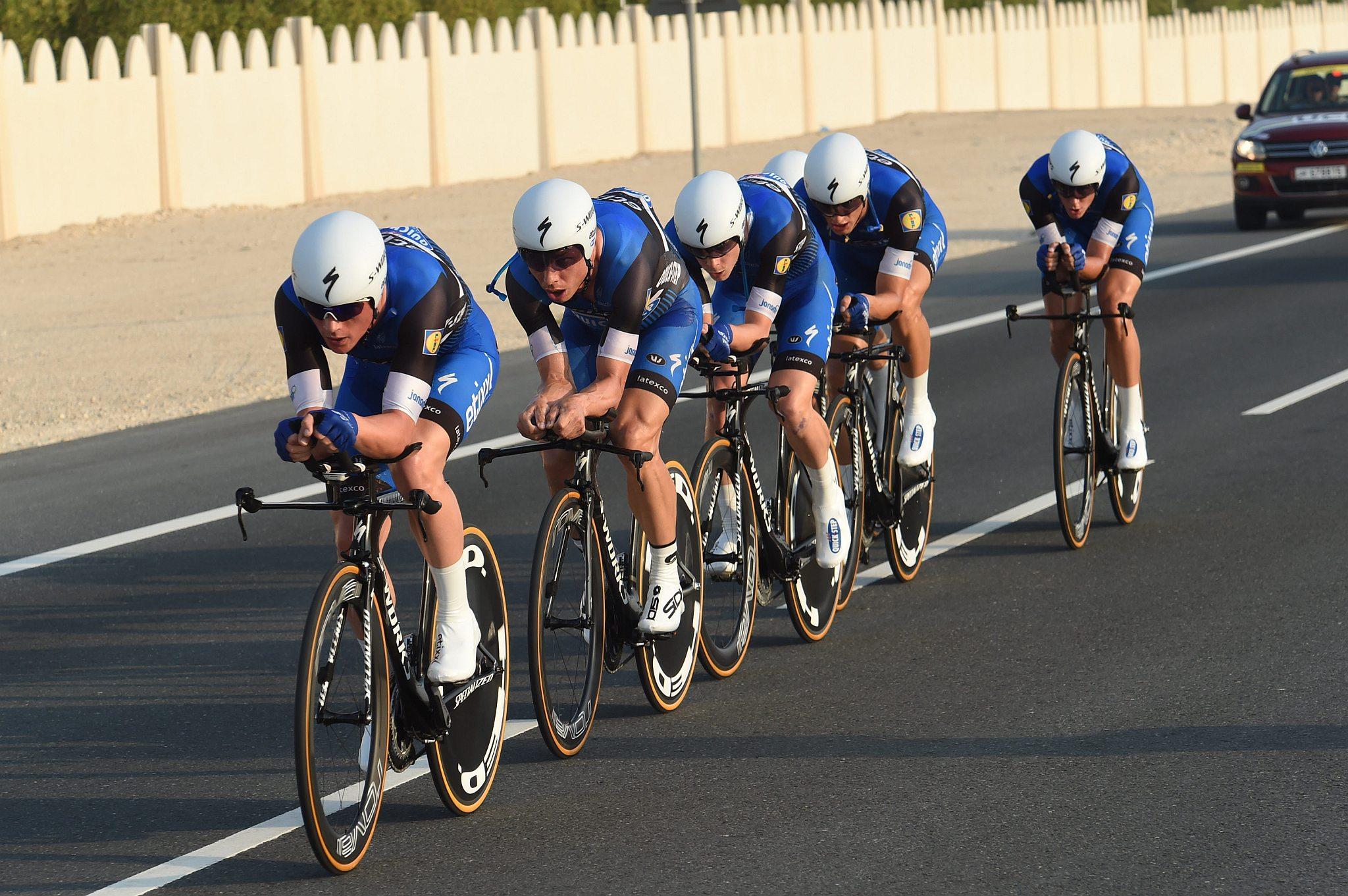 09-10-2016 World Championship Team Time Trial; 2016, Etixx - Quick Step;