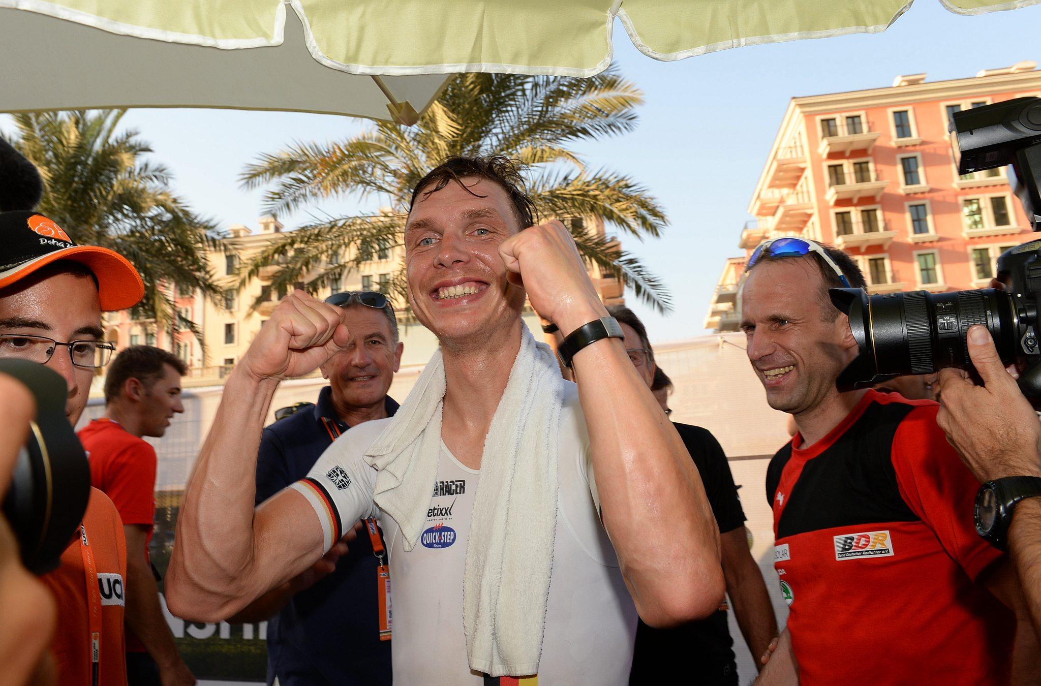 12-10-2016 World Championships Elite Cronometro; 2016, Etixx - Quick Step; Martin, Tony; Doha;