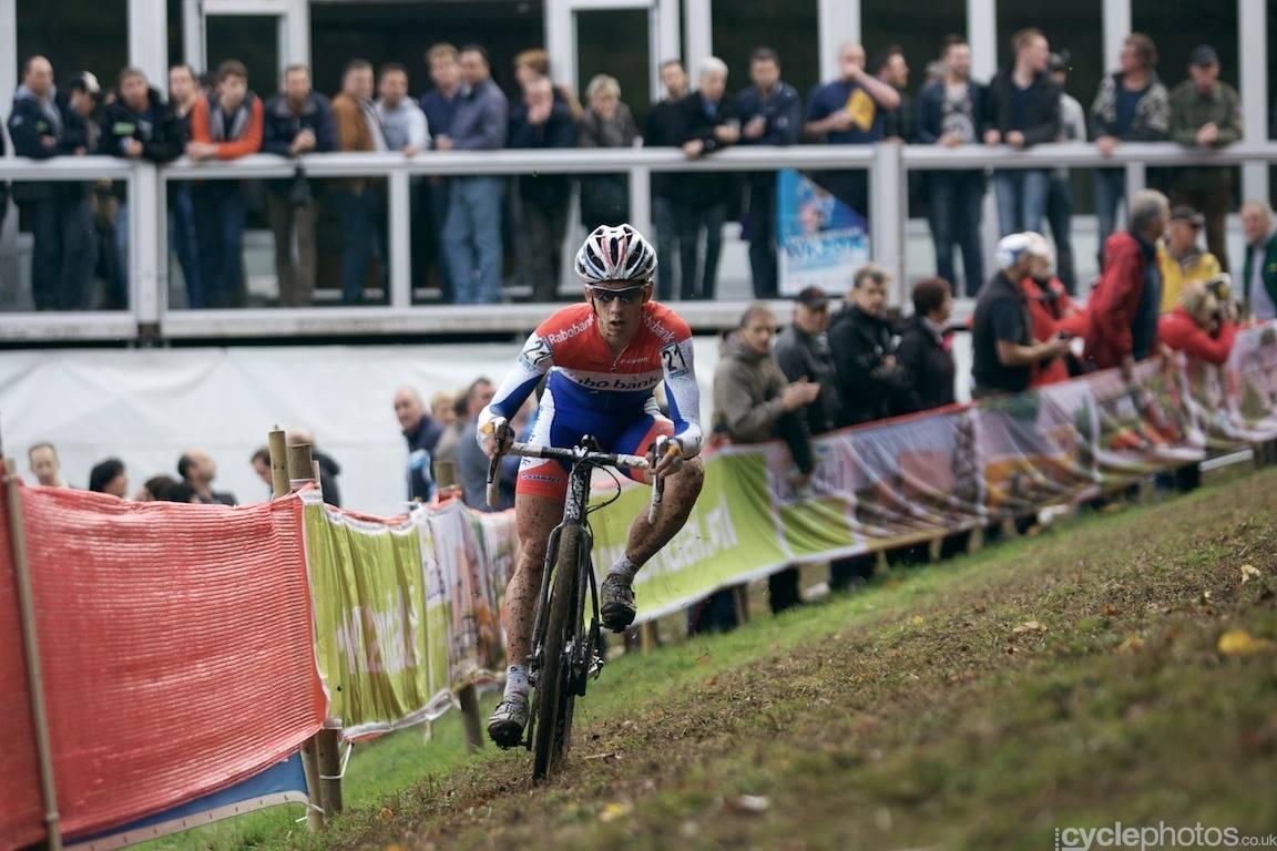 Lars Van der Haar tegnapi győzelme (Fotó: Hamvas Bálint - Cyclephotos.co.uk)