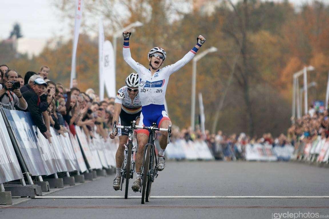 Van der Haar győzelme (Fotó: Hamvas Bálint - cyclephotos.co.uk)
