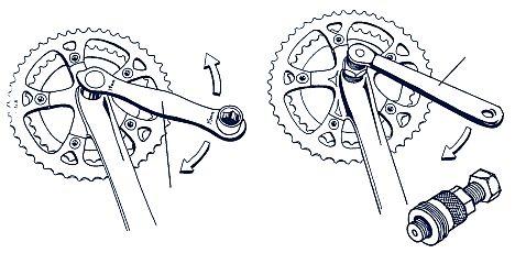 A hagyományos tengelyrögzítéses hajtómű leszerelése a megfelelő célszerszámmal...