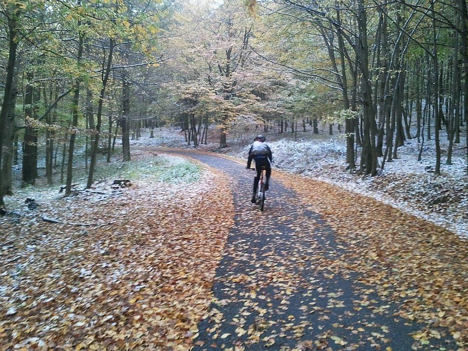 A pálya ősszel