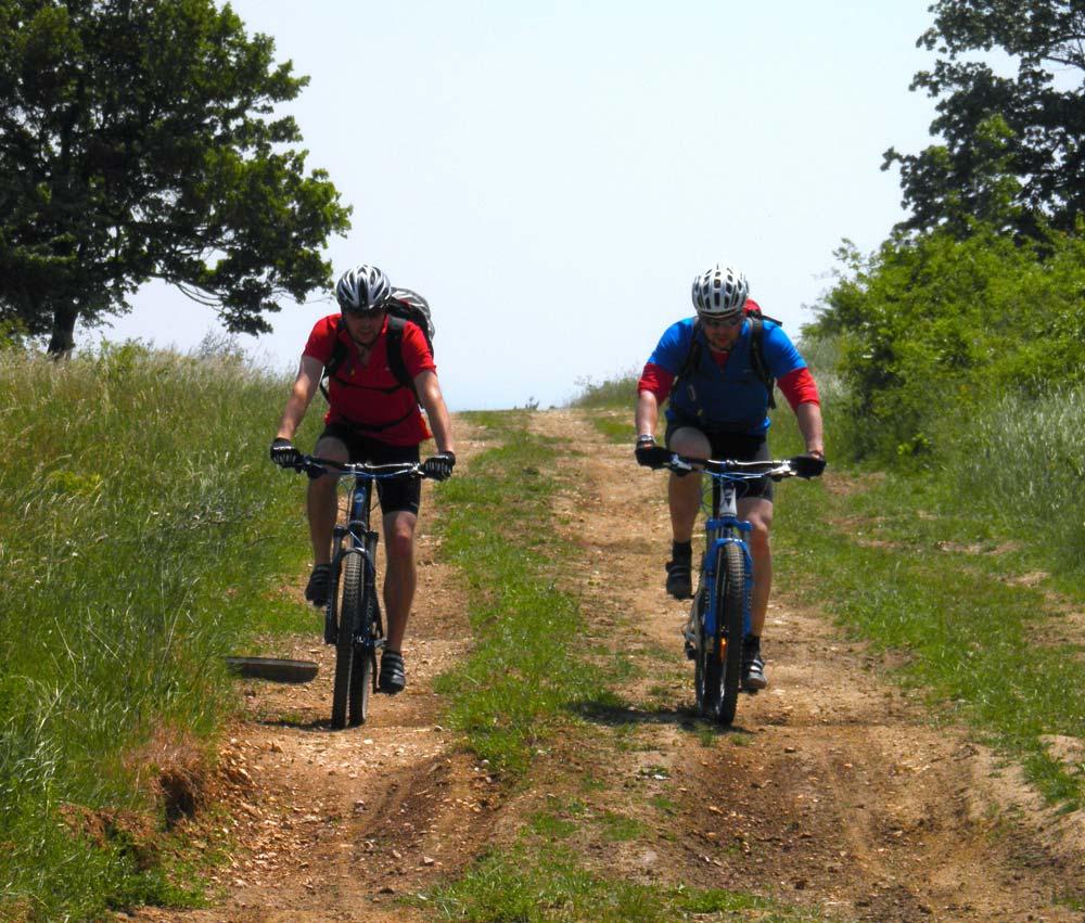 Alpinbike-os bóklászás a Tési-fennsíkon