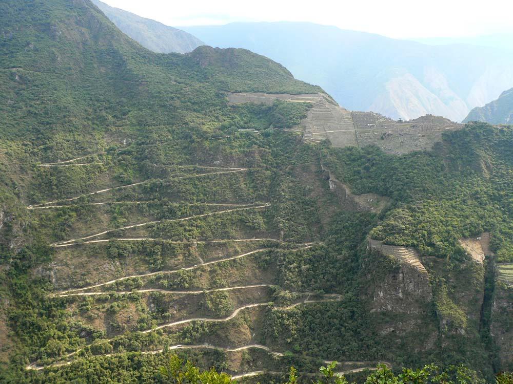 Az utolsó mászások egyike, mielőtt Bolíviába érnénk