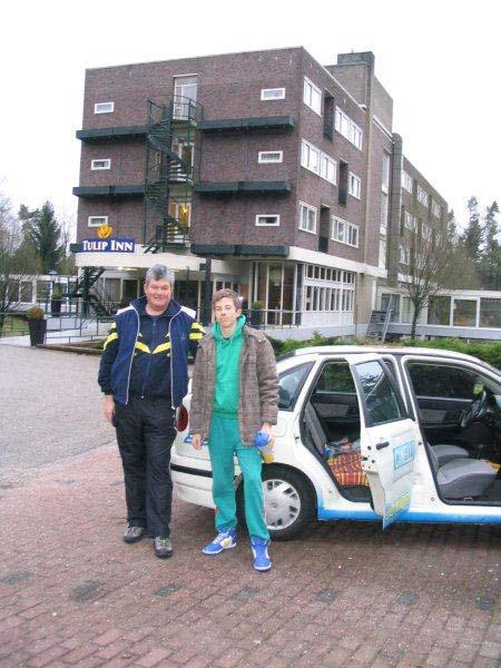 A KSI első éves ifi versenyzője Somogyi Miklós edzővel