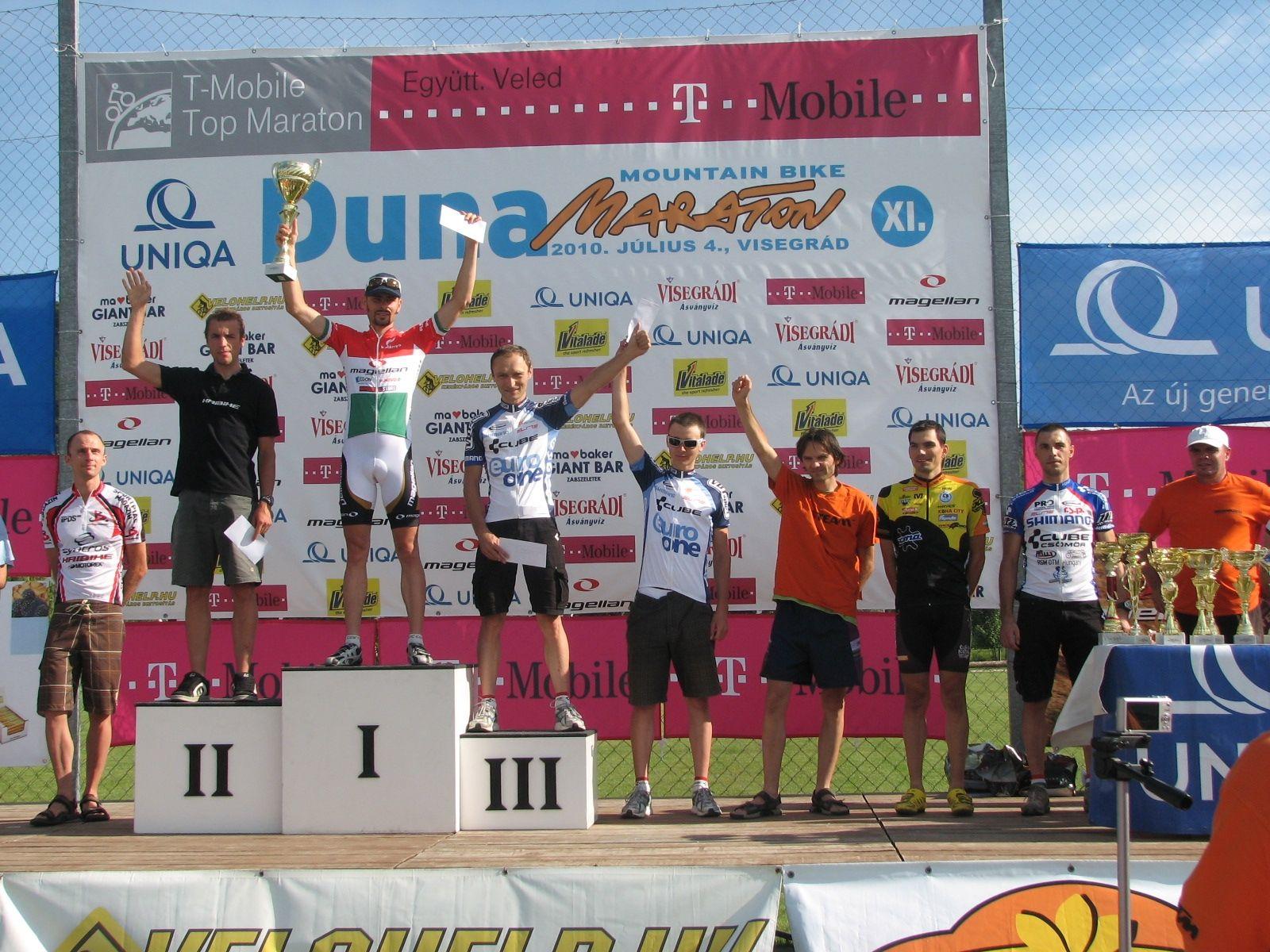 BM duna maraton 2010 elit ferfi - x2s team hasenfratz, szalay