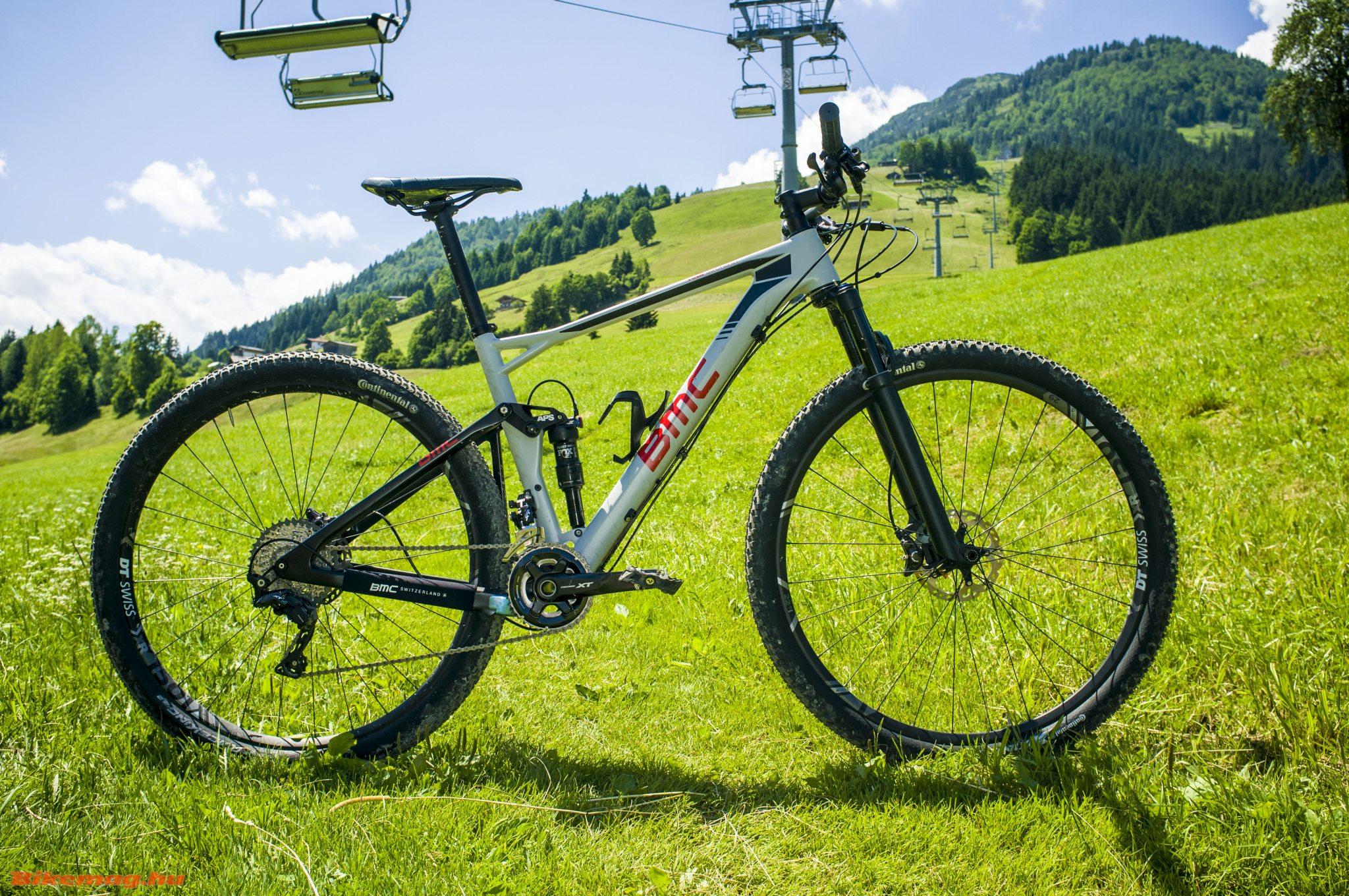 BMC fourstroke 01 XT kerékpárteszt