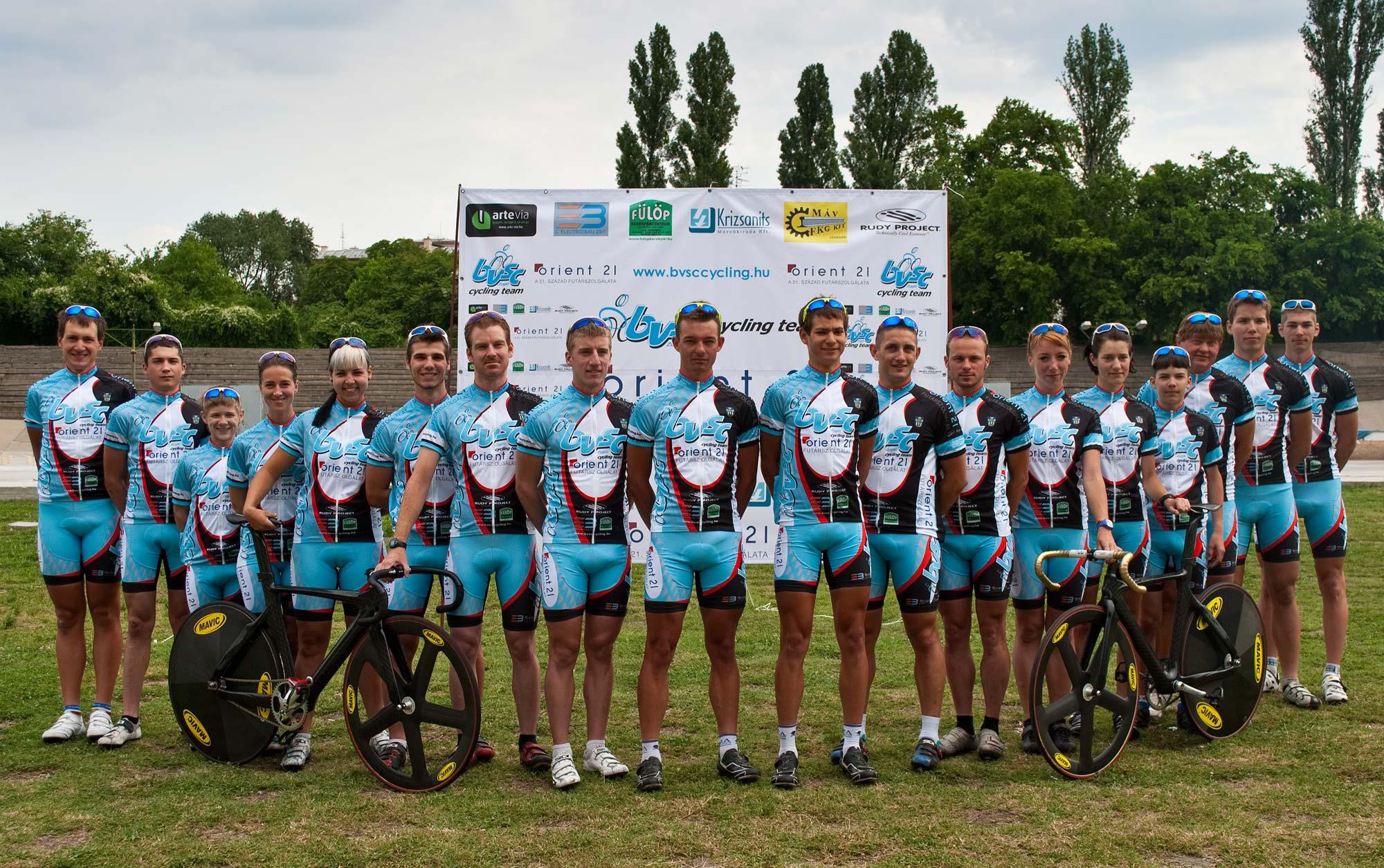Megújult arculat, új támogató: a BVSC-Zugló Kerékpáros Szakosztály főszponzora 2011-ben az Orient 21 Futárszolgálat lett