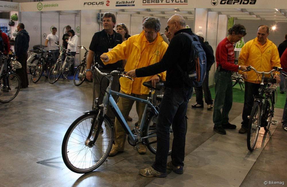 Bike Brno 2010: érdekességek – e-bike