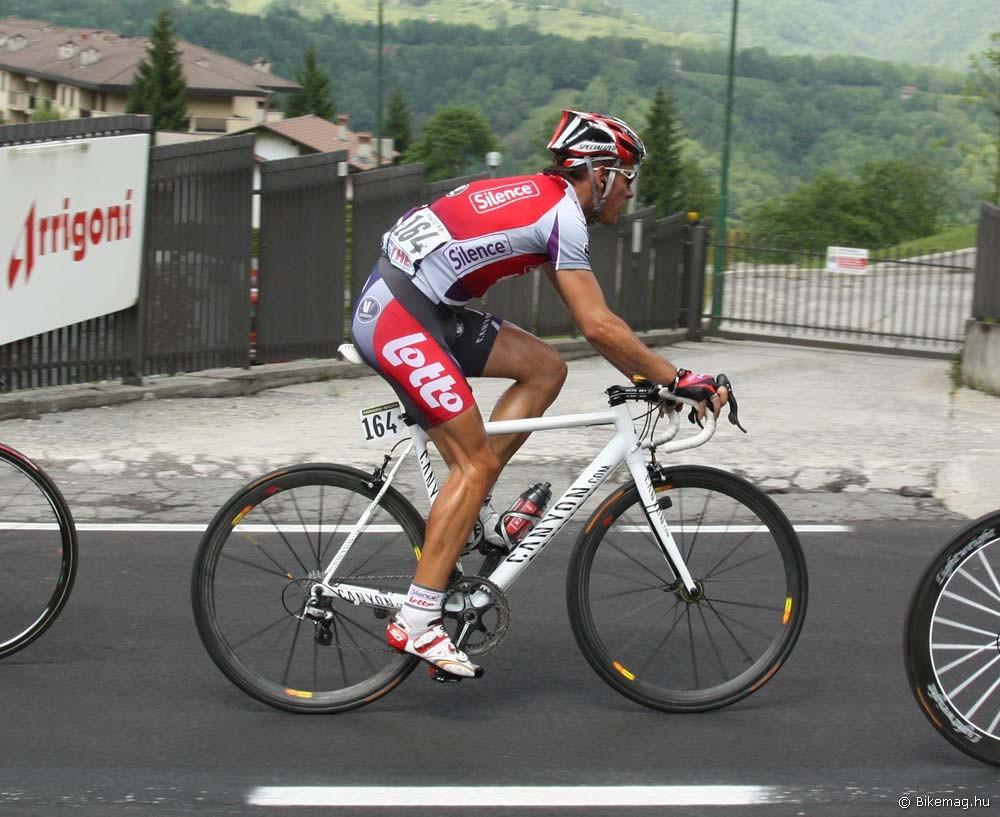 Bizonyára jól ül: Philippe Gilbert a Giro d'Italián