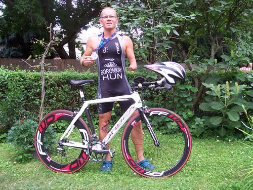 Boronkay Péter Triatlon Európa-bajnok