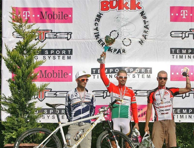 X. Sintesi Bike Bükk Maraton – a felnőtt férfi hosszútáv dobogója