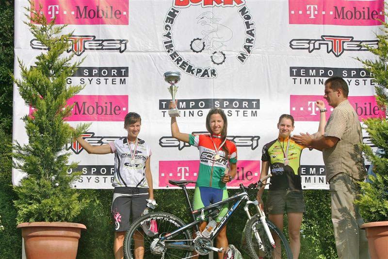 X. Sintesi Bike Bükk Maraton – a felnőtt női középtáv dobogója