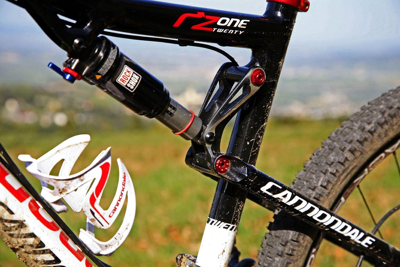 A Cannondale RZ 120 felfüggesztés