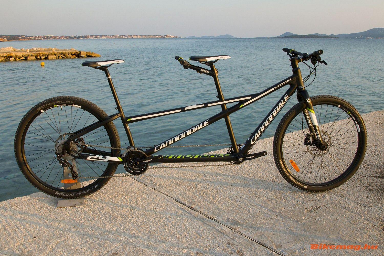 """Cannondale tandem 29"""" kerékpárteszt"""