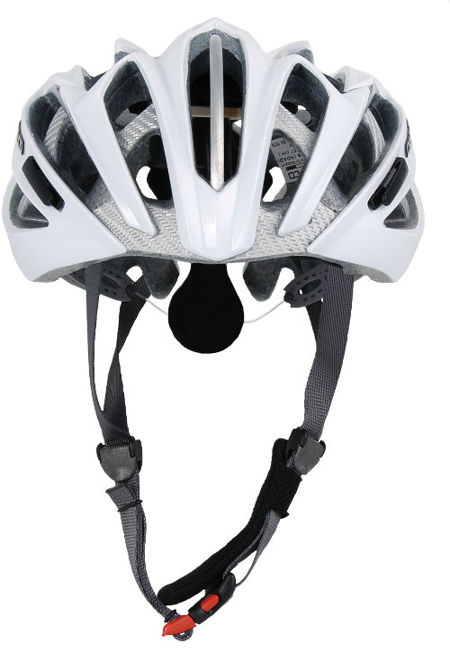 Casco_Ares_Road_white_front_1117