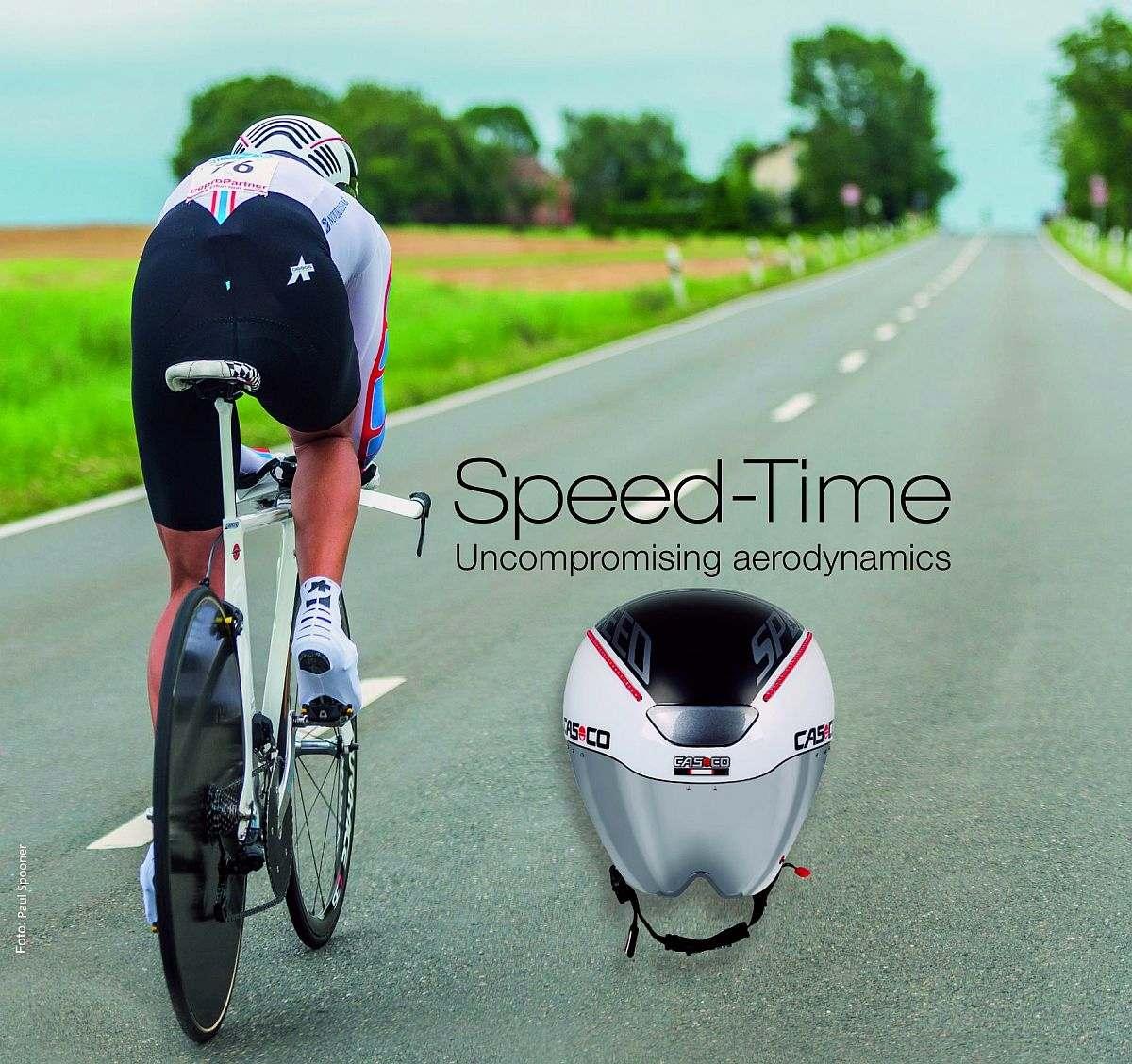 Egy profi időfutambukó, mint a Casco Speed Time elengedhetetlen a jó aerodinamikához a kronón