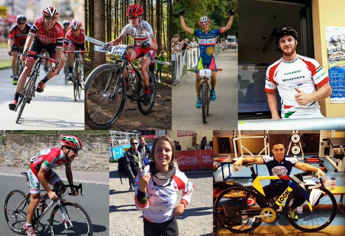 Az év magyar kerékpárversenyzői