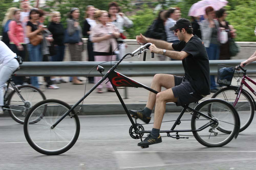 A CM egyfajta parádé is, ahol mindenki megmutogatathatja a bringáját