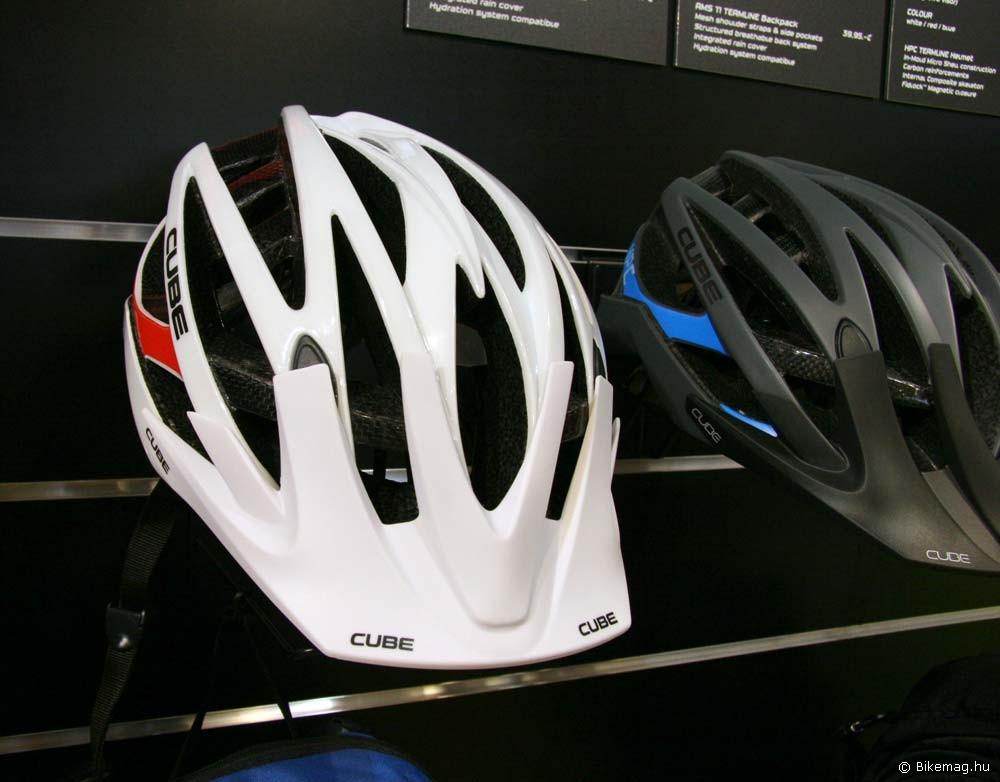 Eurobike 2011: Cube HPC fejvédő