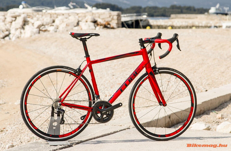 Cube Peloton SL kerékpárteszt
