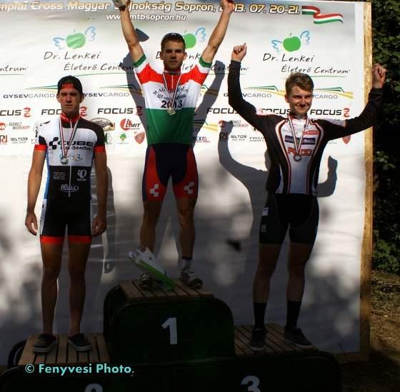 Csielka Márk U23 bajnok