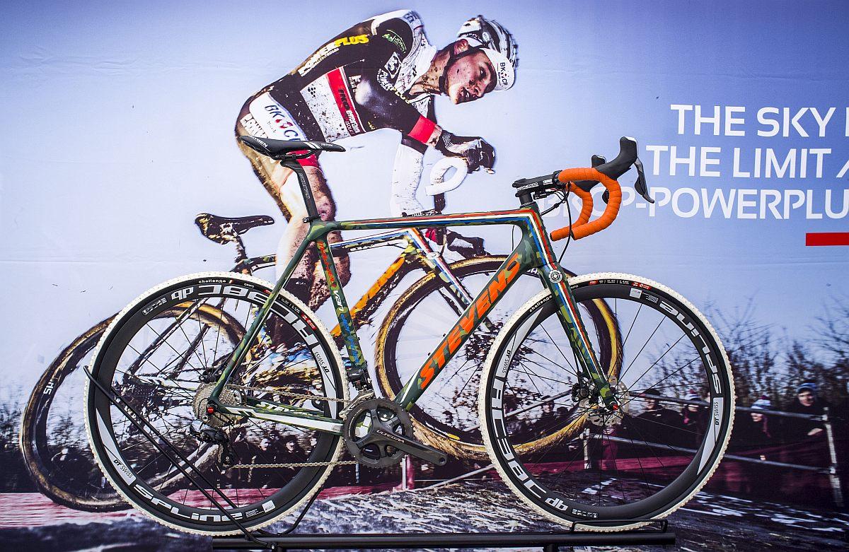 cyclocrossban már bizonyított