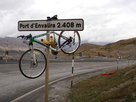 A táv legmagasabb pontja Andorrában