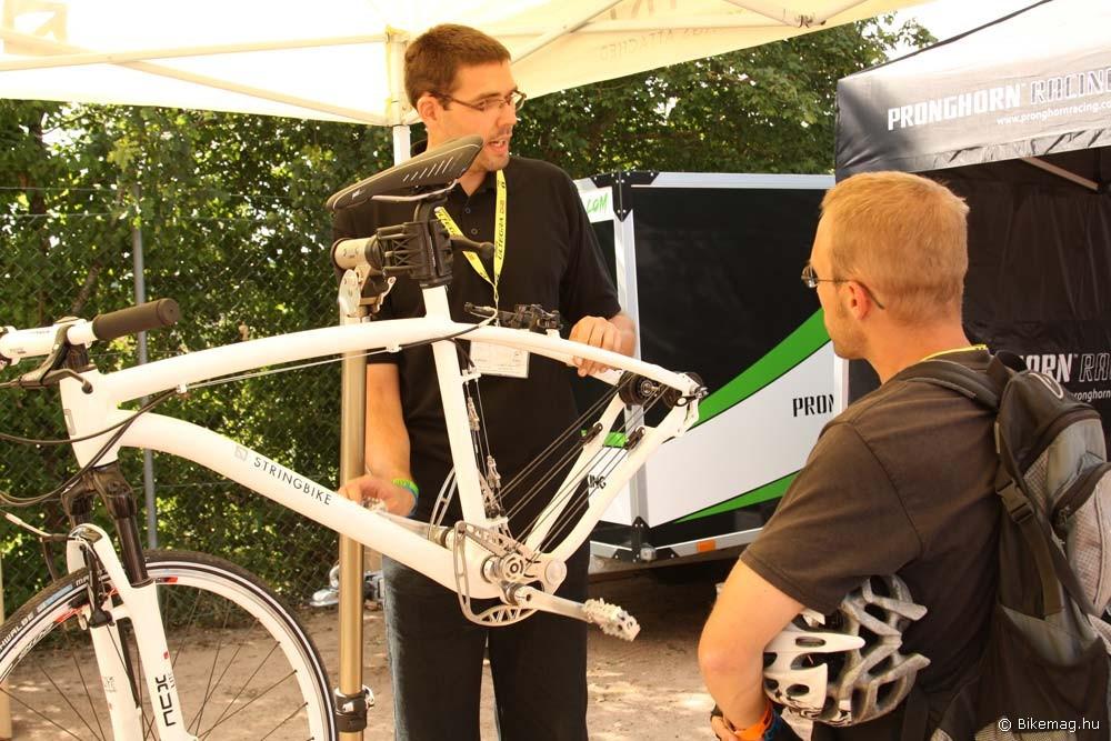 Magyar résztvevője is volt a Demo Day-nek: a Schwinn-Csepelhez köthető Stringbike