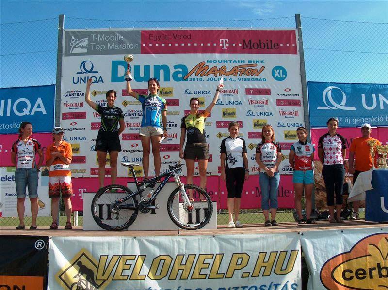 XI. UNIQA Duna Maraton – a női abszolút dobogósai