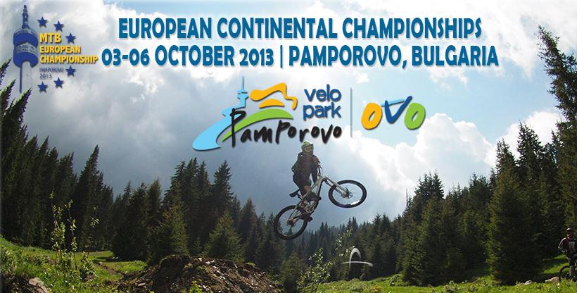 Downhill és Fourcross Európa-bajnokság 2013: Pamporovo, Bulgária