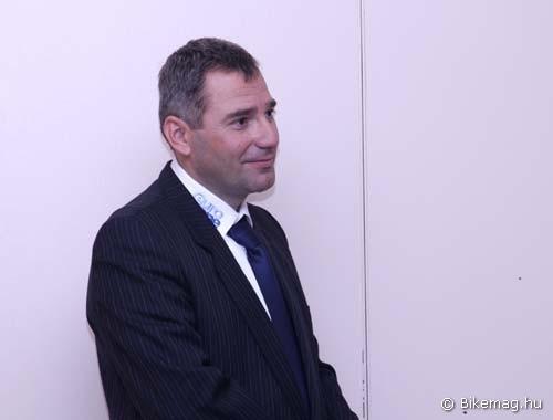 Valter Tibor az EuroOne-Cube Pro MTB Team egyik fő szakmai motorja