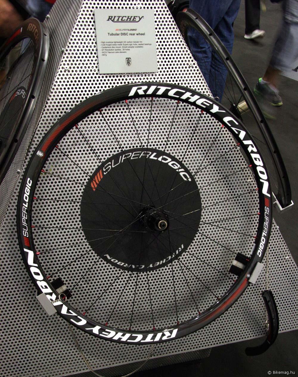 Eurobike 2011: Ritchey Superlogic Tubular Disc