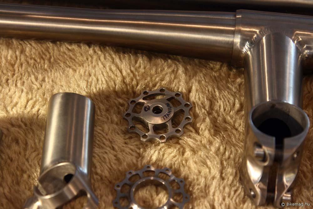 Eurobike 2011 - Acor: Acor titánium