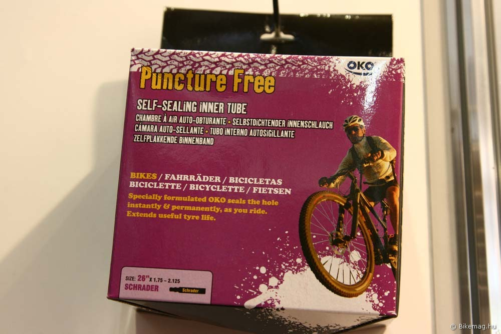Eurobike 2011: Puncture Free öntömítő belső